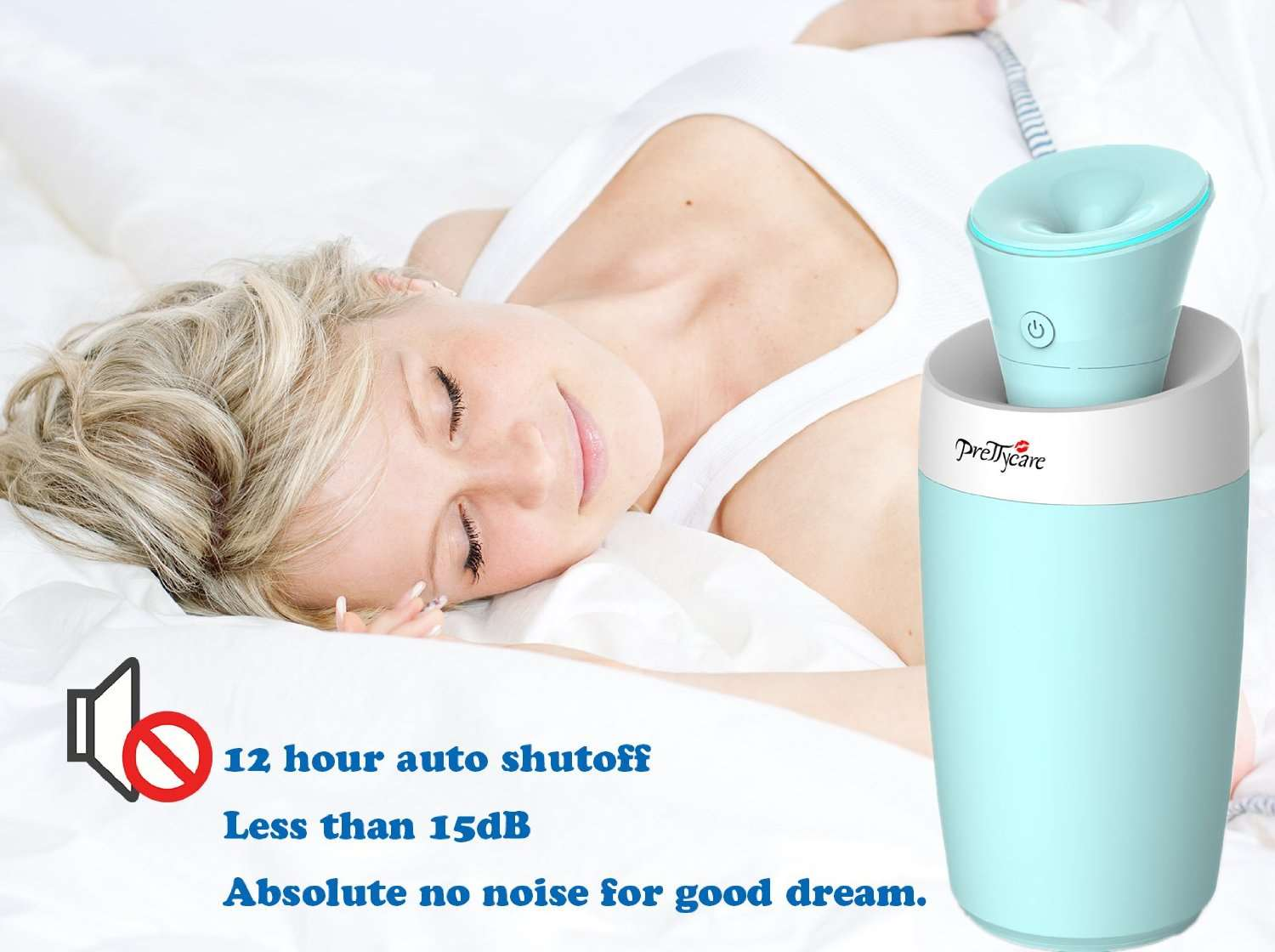 Small Humidifier For Bedroom Mini Portable Usb Ultrasonic Cool Mist Maker Humidifier Air